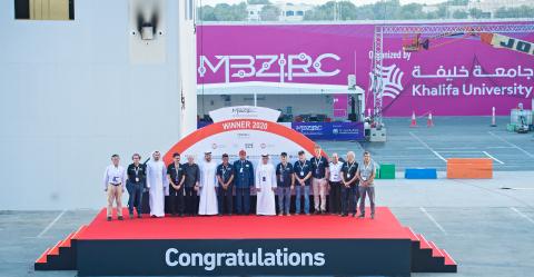 체코 공과대학교와 펜실베니아 대학교가 칼리파 대학교 주관 총 상금 500만달러의 'MBZIRC 2020'서 그랜드 챌린지 우승했다