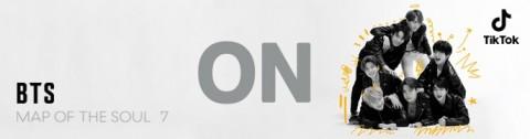 방탄소년단이 정규 4집 타이틀곡 'ON'을 21일(금) 오전 6시(한국시간) 틱톡을 통해 단독 선공개한다