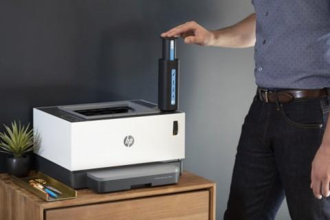 HP Toner 리필 키트로 리필되는 HP Neverstop