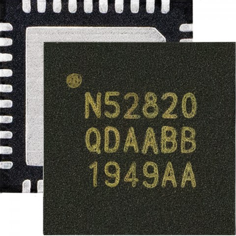 nRF52820 블루투스 5.2 SoC는 첨단 무선 연결 기능을 필요로 하는 게이트웨이와 스마트 홈 및 산업용 애플리케이션을 위한 완벽한 네트워크 프로세서이다