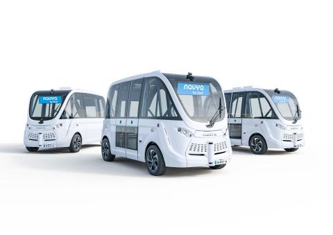 나브야는 2015년부터 도시와 개별 장소에 이동 서비스를 제공하는 자율주행 셔틀 차량 생산에 벨로다인 라이더의 센서를 사용해왔다