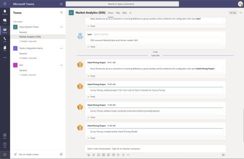 데이터이쿠 7이 실시간 대규모 AI 협업을 위해 마이크로소프트 365와의 통합을 강화한다