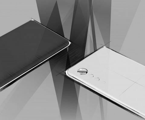 LG전자가 전략 스마트폰 디자인 렌더링을 공개했다