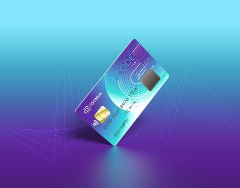 아이데미아와 즈와이프가 후속 조치로 생체인식 지불 카드 플랫폼에 사용할 새로운 칩의 첫 샘플을 출하했다