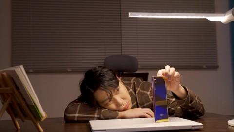 LG 벨벳을 활용한 디지털 캠페인 영상