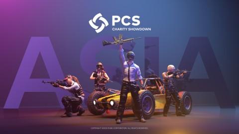 펍지주식회사가 PCS 아시아 채리티 쇼다운을 개막한다