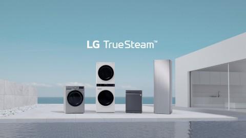 LG전자가 스팀 가전 새 광고를 선보인다
