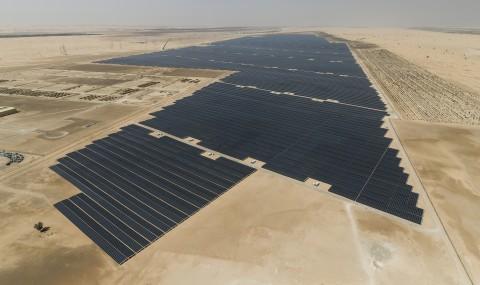 세계 최대 규모의 태양광발전프로젝트 누르(빛) 아부다비 프로젝트