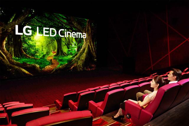 LG전자가 대만 최초 LED 상영관에 LG LED 시네마 디스플레이를 공급했다