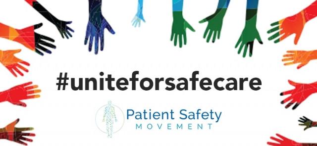 환자안전운동재단은 세계 환자 안전의 날을 위해 환자 안전이라는 주제로 #uniteforsafecare 캠페인을 발표했다