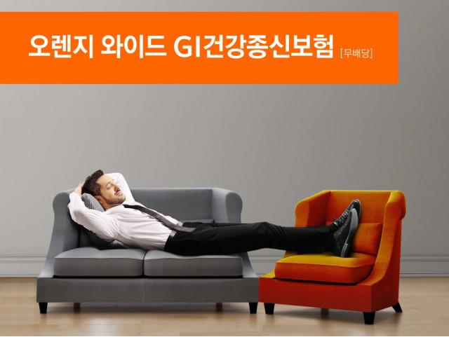 오렌지라이프가 오렌지 와이드 GI건강종신보험을 출시한다