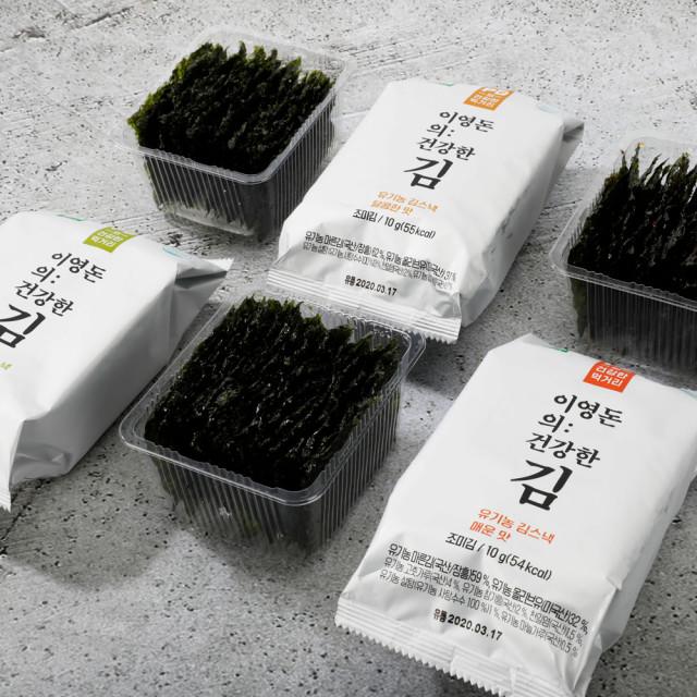 이영돈의: 건강한 김 유기농 김스낵 3종