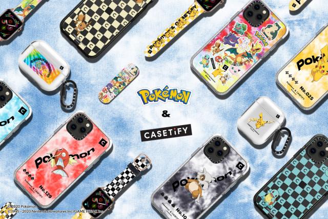 케이스티파이와 포켓몬의 새로운 컬래버레이션 컬렉션