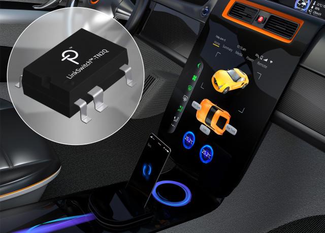파워 인테그레이션스의 LinkSwitch-TN2 고전압 스위처 IC가 자동차용 인증을 획득했다