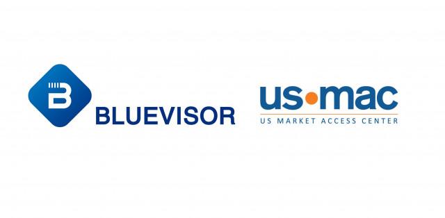 블루바이저, USMAC 로고