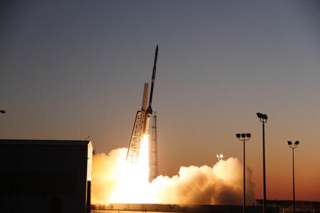 NASA가 발사한 사운딩 로켓