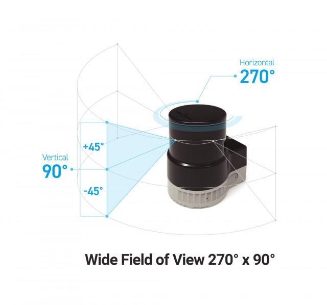 유진로봇 3D 라이다(LiDAR) 센서
