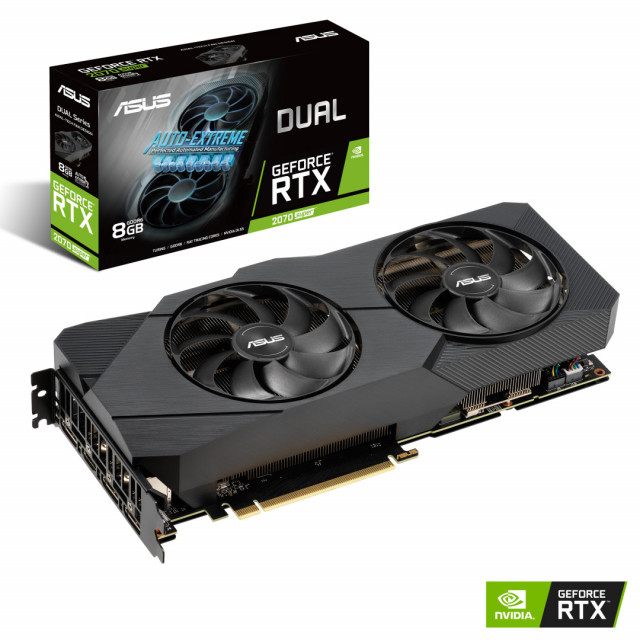 ASUS DUAL GeForce RTX 2070 SUPER O8G EVO D6 8GB 제품