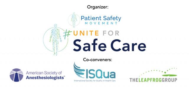 #UniteForSafeCare 공동개최 단체