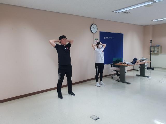 서울시교육청 2020 초등 학습연구년 핵심역량강화 직무연수 2기 밸런스워킹PT 비대면 강의가 진행되고 있다