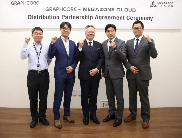 국내 최대 클라우드 관리 기업(MSP) 메가존 클라우드가 AI 프로세서 및 시스템 선도기업 그래프코어(Graphcore)와 국내 최초로 총판 계약을 체결했다