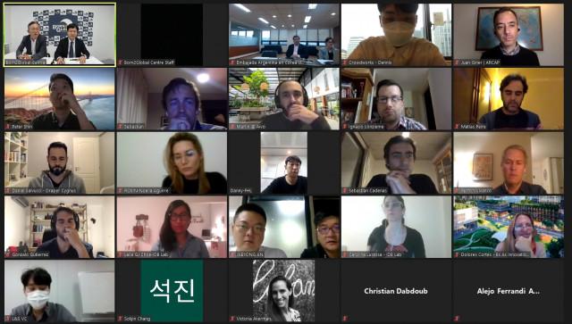 본투글로벌센터가 주한아르헨티나대사관과 '제2회 한-아르헨티나 스타트업 온라인 밋업'을 개최했다