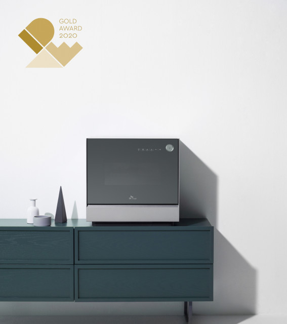 SK Magic's Triple Care Dishwasher won Gold Medal at IDEA 2020. Triple Care Dishwasher is a third-generation dishwasher that offers not only dishwashing and drying but also care and storage functions.
