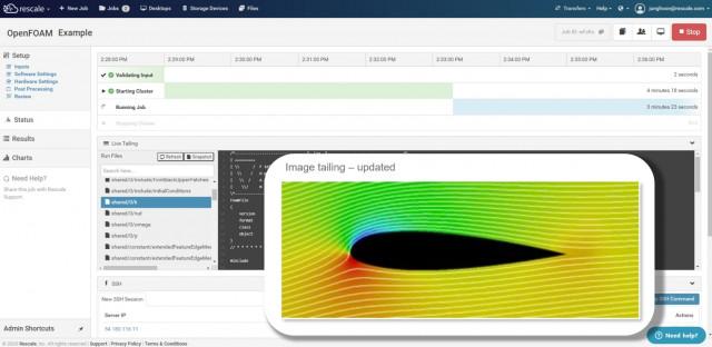 클라우드 HPC 기반으로 해석 작업을 수행하는 Rescale ScaleX® 플랫폼