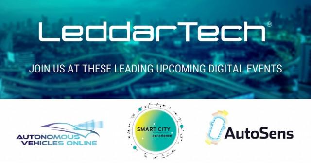 LeddarTech가 2020년 11월 중 열리는 첨단 운전자 보조 시스템(ADAS) 및 자율주행(AD) 관련 다수의 디지털 이벤트에 참가한다고 밝혔다