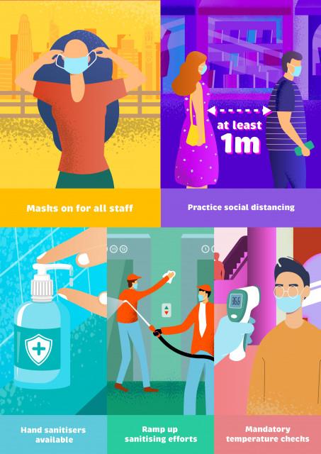 홍콩관광청, 표준화 된 위생 프로토콜 프로그램 도입