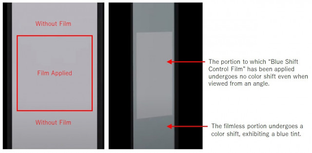 OLED 블루 시프트 컨트롤 필름