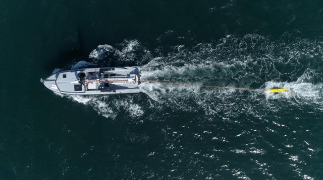 MMCM system at sea
