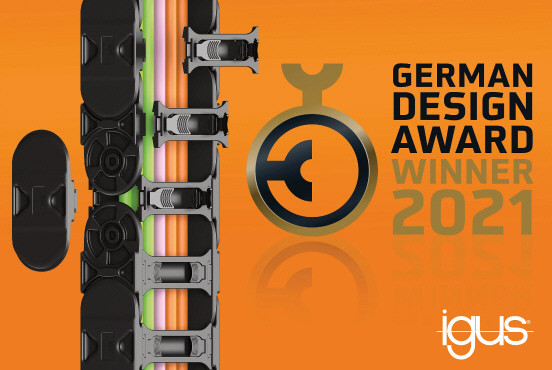 독일 디자인 어워드를 수상한 이구스 e체인 E4Q, 조립시간 40% 감소에 반해 강도는 30%상승했다