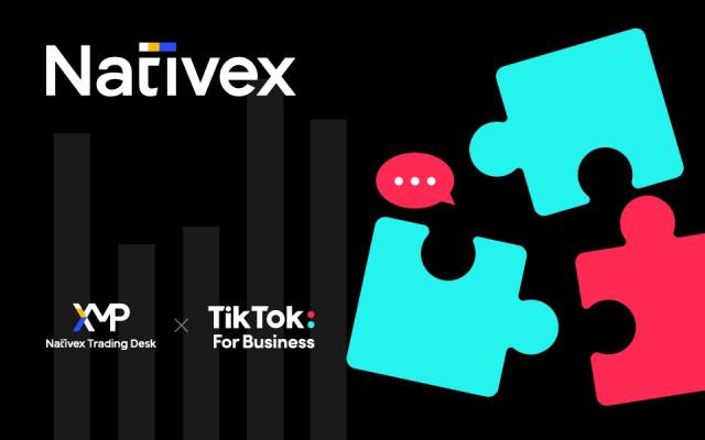 네이티브엑스, 틱톡과 공식 마케팅 파트너십 체결
