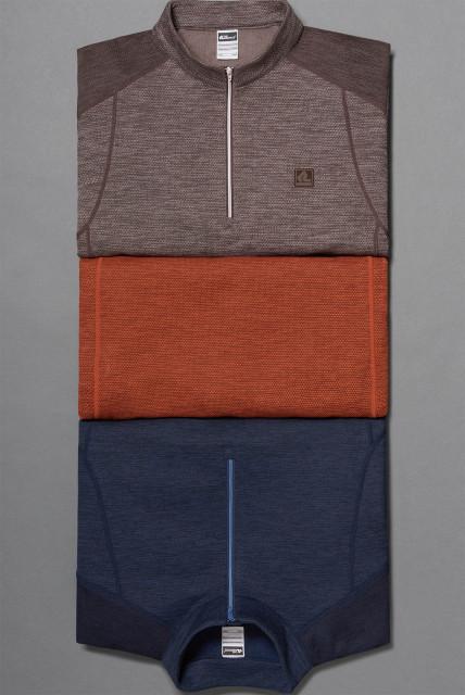 레드페이스 프라임 멜란 웜 짚 티셔츠