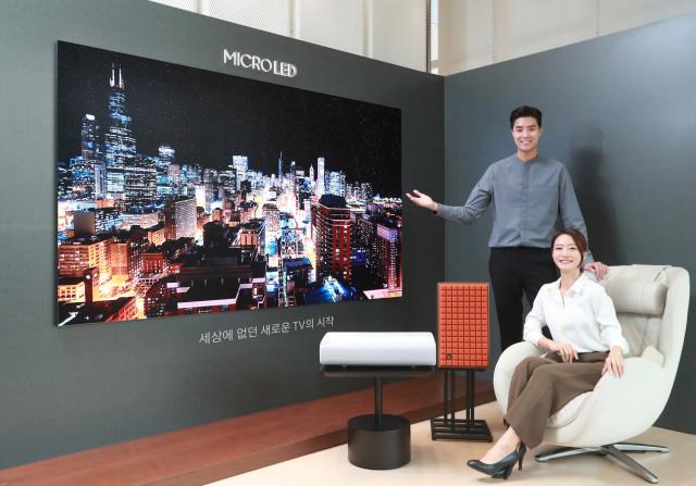 삼성전자가 마이크로 LED TV 사전 예약을 실시한다