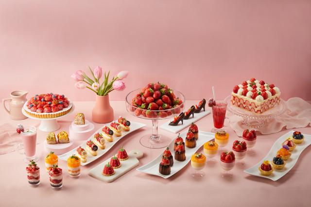 호텔 서울드래곤시티가 취향에 따라 고르는 이색 딸기 이벤트를 실시한다