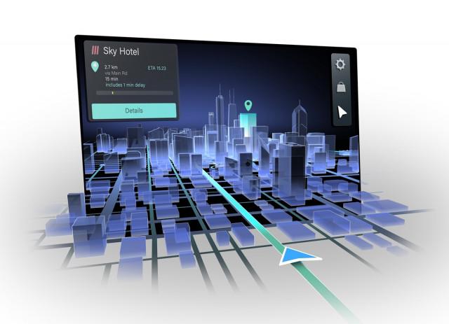 콘티넨탈이 히어·레이아와 내추럴 3D 자동차 내비게이션을 공동 개발한다