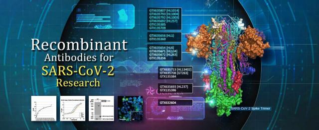 GeneTex가 신종 코로나바이러스 연구용 항체 및 시약 포트폴리오를 출시했다