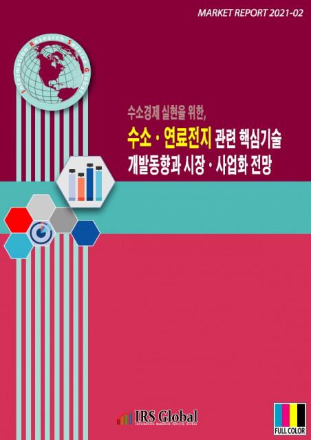 수소경제 실현을 위한 수소·연료전지 관련 핵심기술 개발동향과 시장·사업화 전망 보고서 표지