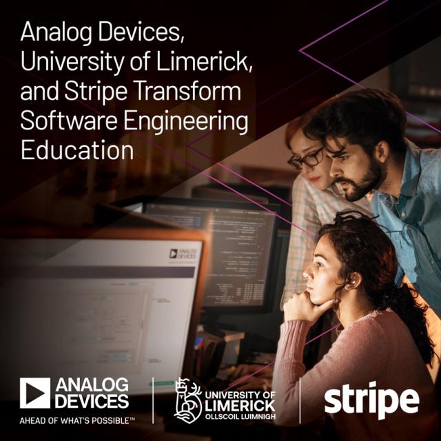 ADI-리머릭대학-스트라이프가 엔지니어링 교육 혁신을 위해 협력한다