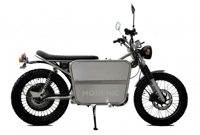 국내 최초 OBC(On Board Charge) 시스템을 적용한 수제 전기 오토바이 UB46E