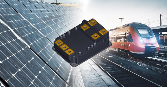 도시바 MG800FXF2YMS3 철도 차량 및 재생 에너지 발전 시스템을 포함한 산업 애플리케이션을 위한 SiC MOSFET 모듈