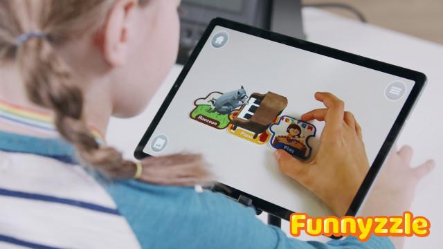 글로벌 AR 영어 장난감 퍼니즐