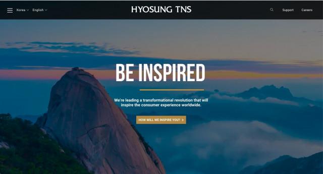 효성티엔에스의 기술적으로 인상적인 140페이지의 새로운 웹사이트는 금융기관과 소매업계에서 효성의 리더십을 통합하고 이전의 모든 지역 웹사이트를 하나의 글로벌 웹사이트로 통합하기 위해 설계되었다. 여기에는 다국어 인터페이스와 직관적인 대화형 제품 카탈로그가 포함돼 있다