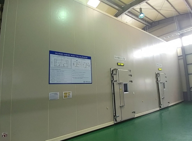 티유브이 라인란드 코리아 에너지 효율 시험소(밸런스 룸 타입 칼로리미터)