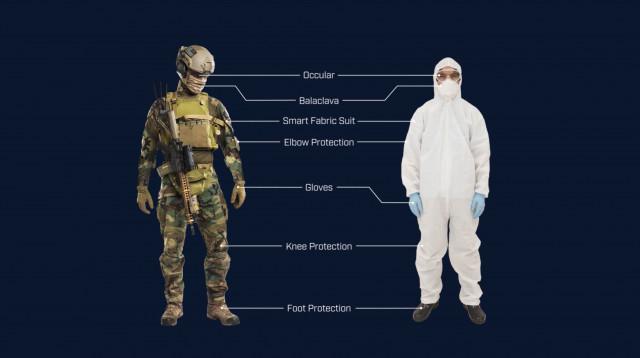 맞춤형 보호 바이오시스템 프로그램을 통해 VX, 염소가스, 에볼라 바이러스 등 화학적·생물학적 작용제에 대한 방어 기능이 내장된 섬유를 개발할 예정이다. 플리어 시스템즈가 개발할 이 혁신적 섬유는 전장의 군대, 의료인, 의료 종사자 등이 착용하는 방호복과 부츠, 장갑, 눈 보호대 등 기타 장비에 적용할 수 있다