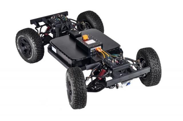 4×4 SUV 플랫폼