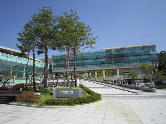 동탄복합문화센터도서관 전경