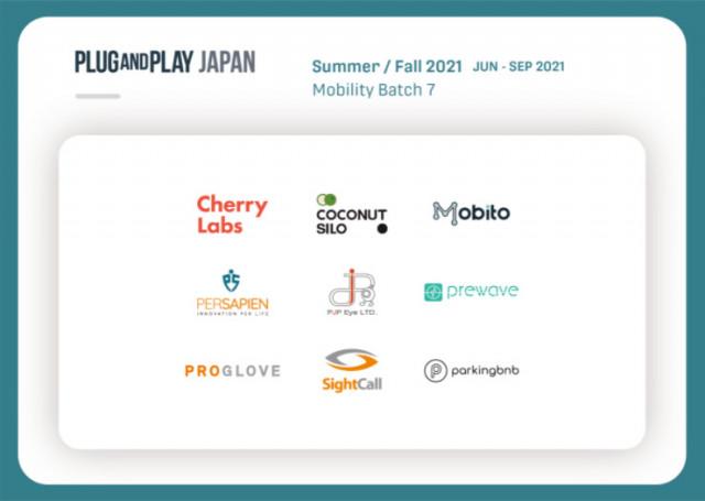 일본 플러그앤플레이 2021 Mobility Batch 선정된 코코넛사일로